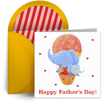 Father and Son card image