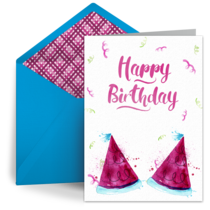 Kids Party Hats card image