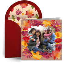 Leaf Photo Frame card image