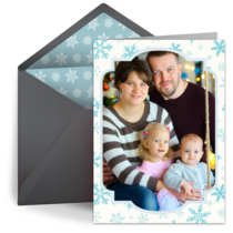 Snow Frame card image