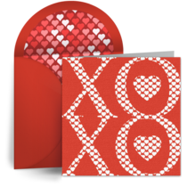 XOXO card image