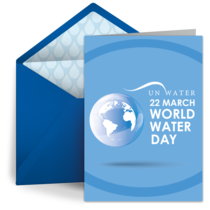 World Water Day | Mar 22 card image