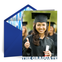 The Graduate card image