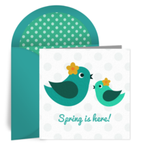 Baby Bird card image
