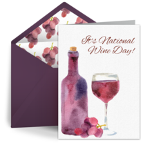 National Wine Day | May 25 card image