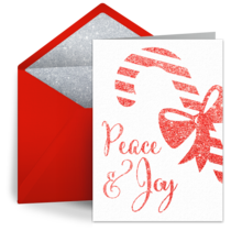 Christmas Peace & Joy card image