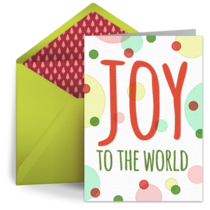 Holiday Dots card image