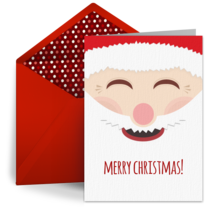 Santa Claus card image