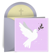 Peaceful Dove card image