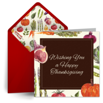 Thanksgiving Feast card image