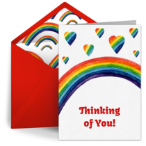 Rainbow Thoughts card image