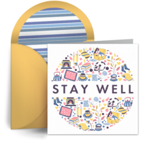 Stay Well Pattern card image