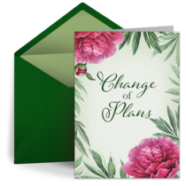 Change of Plans card image