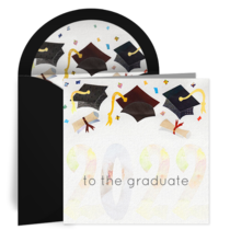 2020 Graduation Collage card image