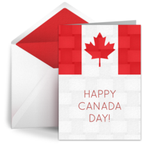 Canada Day Texture card image