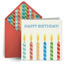 Birthday cards for him free happy birthday ecards greeting cards birthday candles for him m4hsunfo