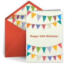 Free Milestone Birthday ECards Happy Cards Greeting Wishes