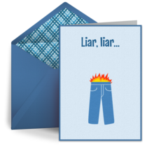 Pants on Fire card image