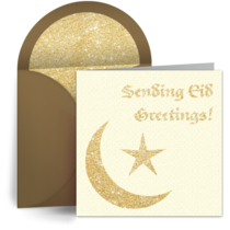 Eid Greetings card image