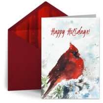 Holiday Cardinal card image