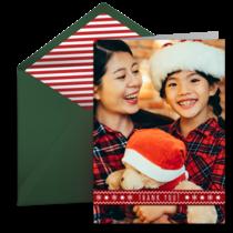 3a9de7df5f6 Christmas Thank You Cards
