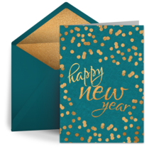 Happy New Year Greeting Card 102
