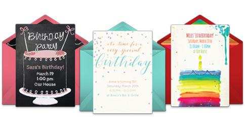 Free Birthday Invitations Online Invites