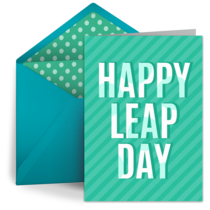 Happy Leap Day card image