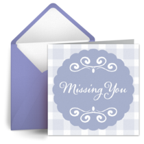 Missing You card image