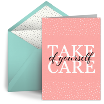 Take Care of Yourself Script card image