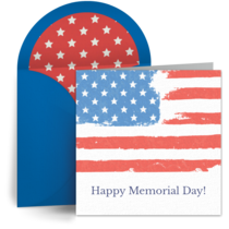 Memorial Day Flags card image