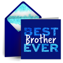 Best Brother Ever card image