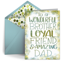 Wonderful Brother card image