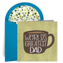 Dad Coffee Mug card image