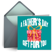 A Father's Day Gift card image