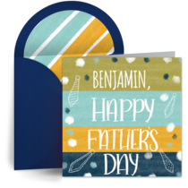 Personalized Dad card image