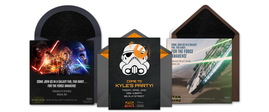 Free Star Wars Invitations Star Wars Online Invitations Punchbowl