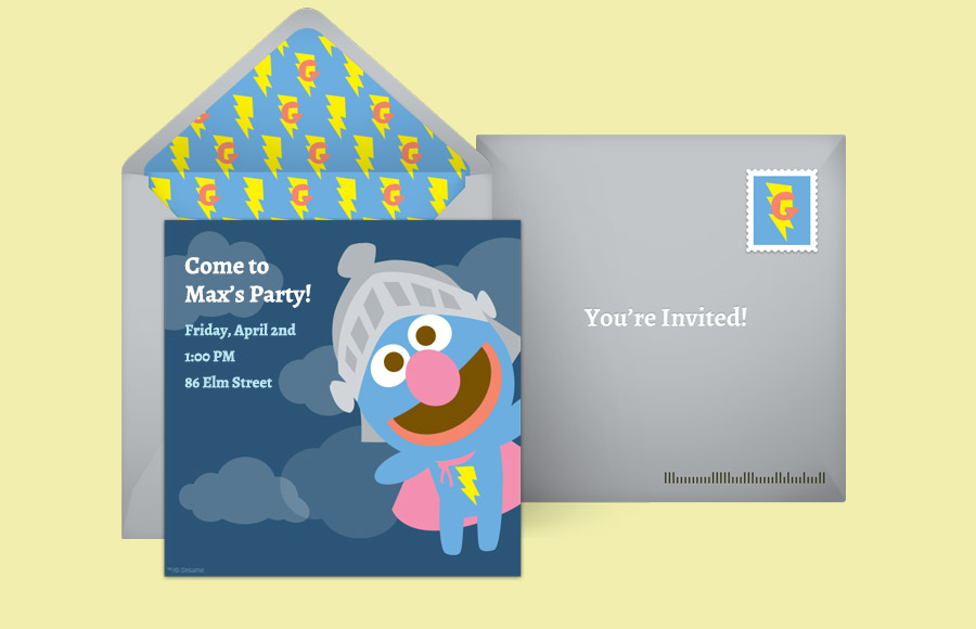 Plan a Baby Grover Party!