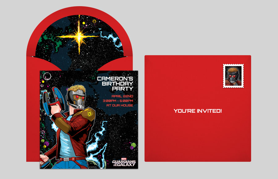 Plan a GOTG Star-Lord Classic Party!