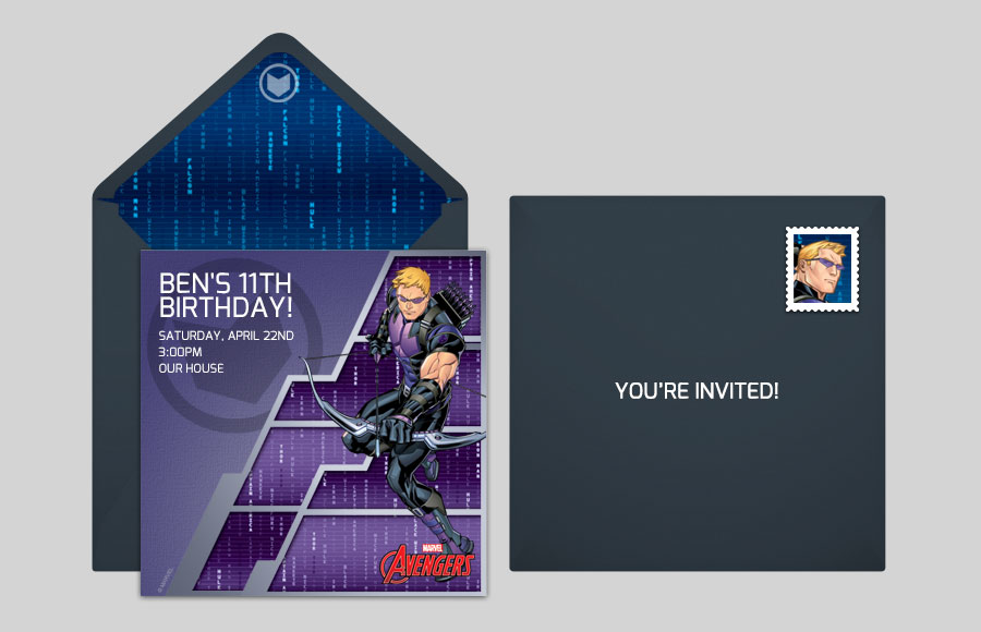 Plan a Avengers Hawkeye Party!