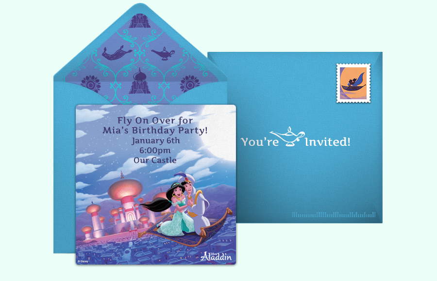 Plan a Aladdin Party!