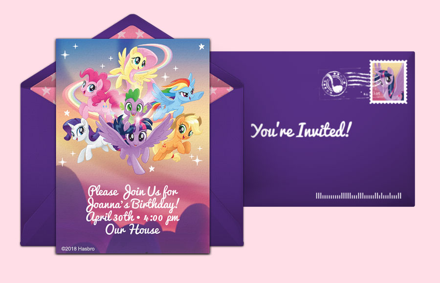Plan a My Little Pony | Group Party!