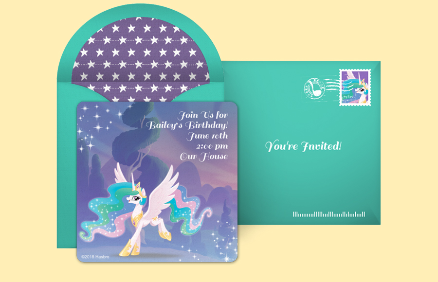 Plan a Princess Celestia Magic Party!
