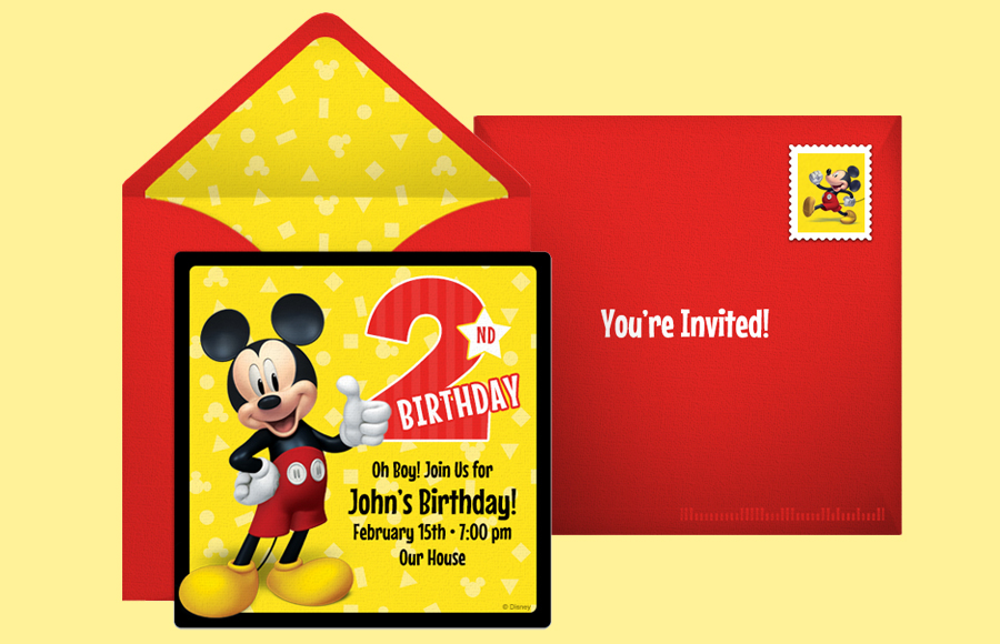 Plan a Mickey 2nd Birthday Party!