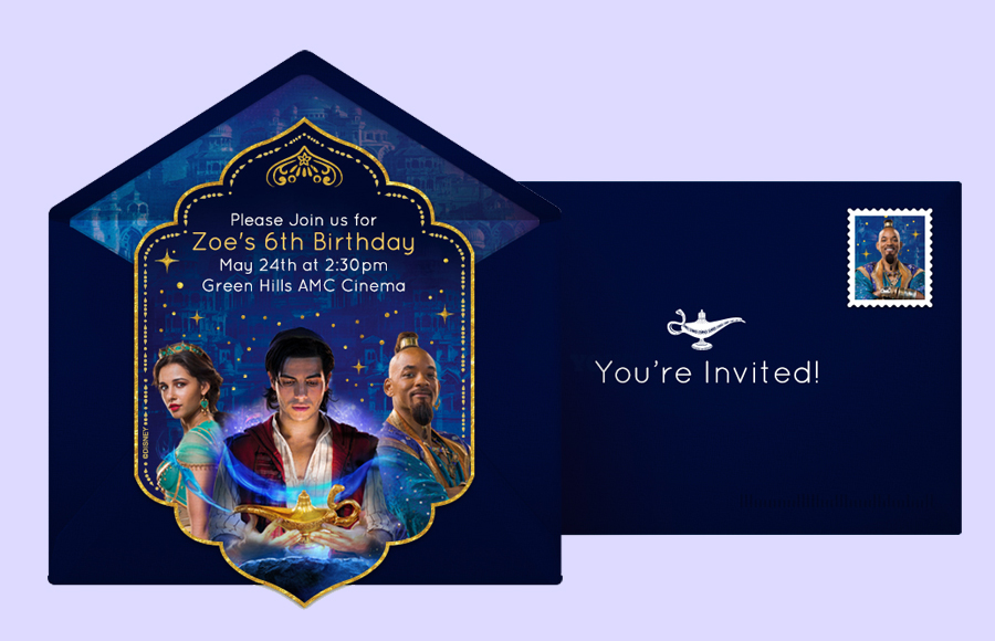 Plan a Aladdin Movie Party!